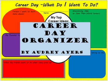 Career Day Organizer - Display - Activity