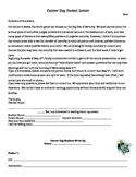 Career Day Parent Letter and Student Accountability Write Up