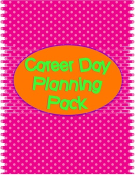 Career Day Planning Pack