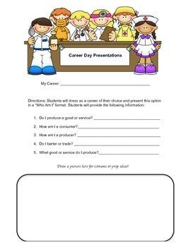 Career Day Planning Sheet