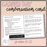 Career Day Conversation Card