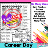 Career Day Word Search Activity