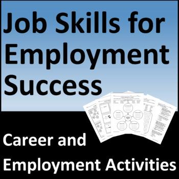 Job Skills for Employment Success Activities
