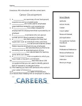 Career Development Worksheet