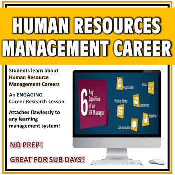 Career Digital Activity-Human Resource Management NO PREP!