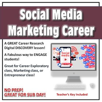 Career Digital Activity-Social Media Marketing Career NO PREP!