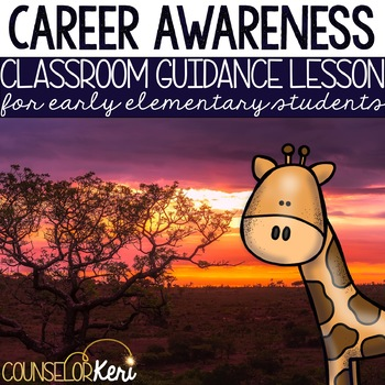 Career Education Classroom Guidance Lesson for Elementary School Counseling