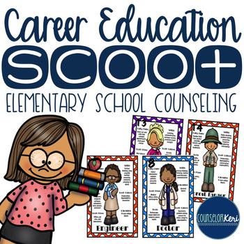 Career Education/Community Helper Scoot Activity - Element
