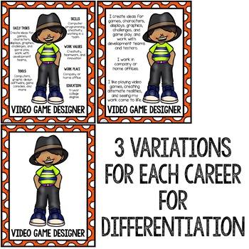 Career Education Community Helper Posters - School Counseling Career Exploration