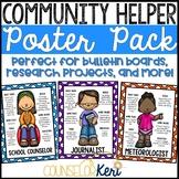 Career Education Community Helper Posters for Elementary C
