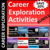 Career Exploration Activities BUNDLE