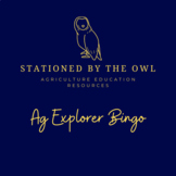 Career Exploration- Ag Explorer Bingo