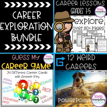 Career Exploration BUNDLE ******