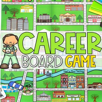 Career Exploration Board Game; Career Education Community