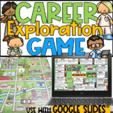 Career Exploration Game for Google Classroom Distance Learning