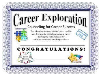 Career Exploration Certificate