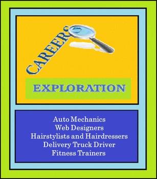 Careers Exploration, Jobs, Vocational, Reading,  Exploring Careers