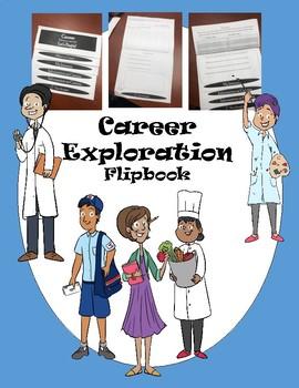Career Exploration Flipbook New Product 50% OFF!!