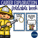 Career Exploration Folding Book - Elementary School Counseling