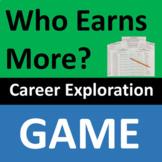 Career Exploration Game Salaries Fun Activity