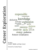 Career Exploration, Planning and Goal Setting