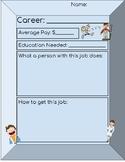 Career Exploration Graphic Organizer