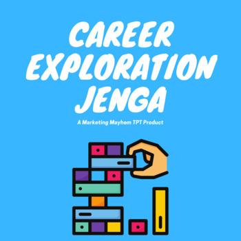 Career Exploration Jenga Game Bundle