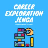 Career Exploration Jenga Game Activity