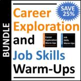 Career Exploration & Job Skills Warm-Up Activities BUNDLE