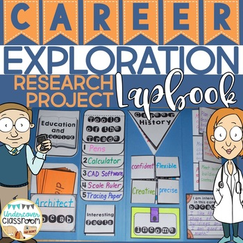 Career Exploration Lapbook: Interactive Kit