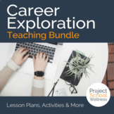 Career Exploration - Health or Advisory lesson plans bundle w/ six activities