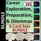 Career Exploration, Preparation, & Dilemmas Card Sets/Grou