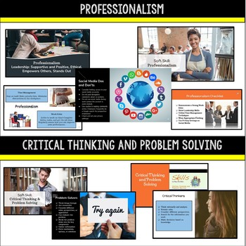 Career Exploration, Readiness, Research, and Soft Skills Resource Bundle