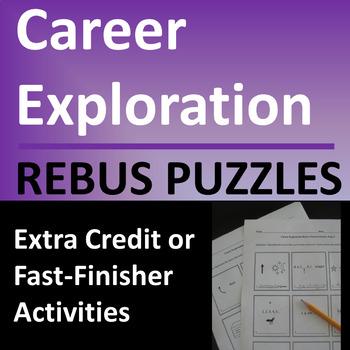 Career Exploration Rebus (Picture) Puzzles