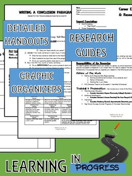 Career Exploration: Research & Real World Activities Bundle {CCSS Aligned}