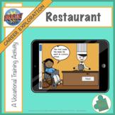 Boom Cards Career Exploration: Restaurant, A Vocational Tr