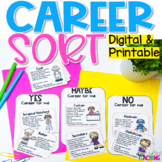 Career Exploration Sort for Google Classroom Distance Learning