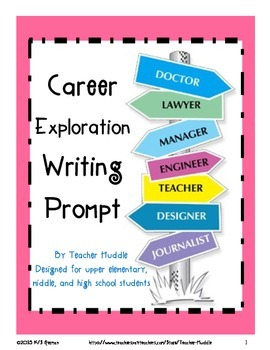 Career Exploration Writing Prompt