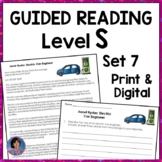 Career Exploration for Elementary: Reading Passages and Questions {Set Seven}