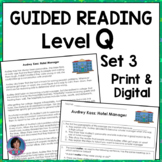 Career Exploration for Elementary: Reading Passages and Questions {Set Three}