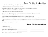 Career Fair Scavenger Hunt