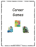 Career Games, Picture Cards, & Word Cards