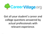 Career Guidance for Students, from Professionals