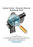 Career Guide - Forensic Science & Related Field