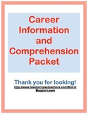 Career Information and Comprehension Packet
