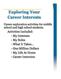 Career Interest Exploration for Middle/High School Students