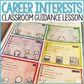 Career Interest Inventory Classroom Guidance Lesson - Career Exploration