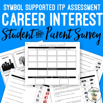 Career Interest Symbol Supported Survey