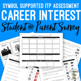 Career Interest Symbol Supported Student Survey