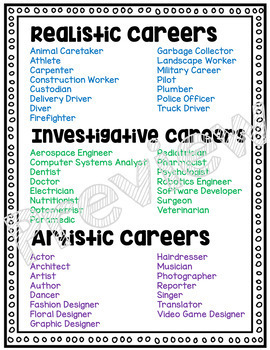 Career Interest Survey for Career Exploration